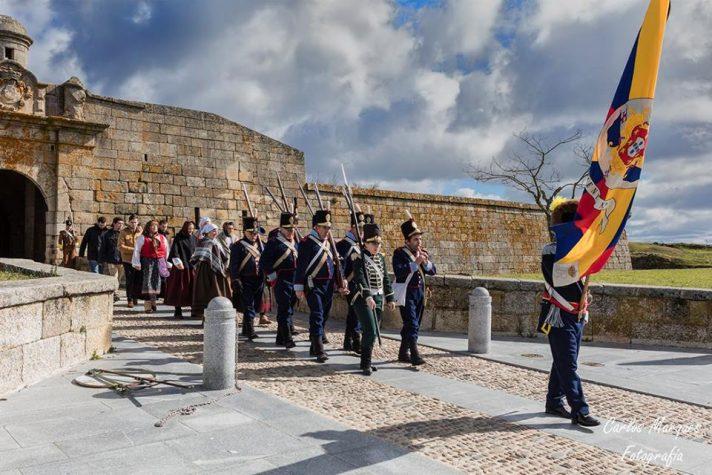 Recriação histórica do Cerco de Almeida
