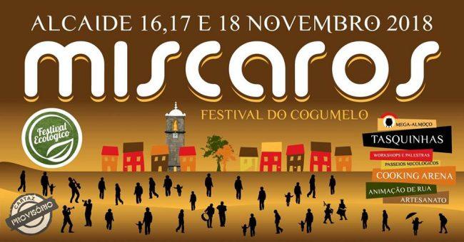Miscaros-Festival do Cogumelo em Alcaide